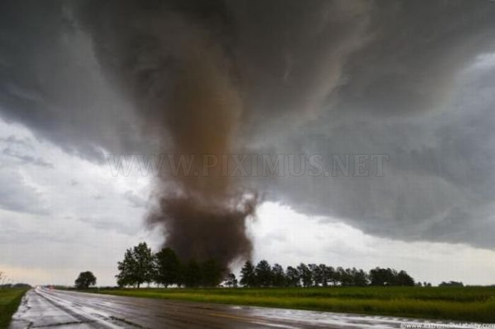 Eye of a Tornado