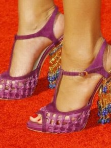 Weird Shoes of Celebrities
