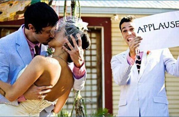 Weird and Funny Wedding Photos