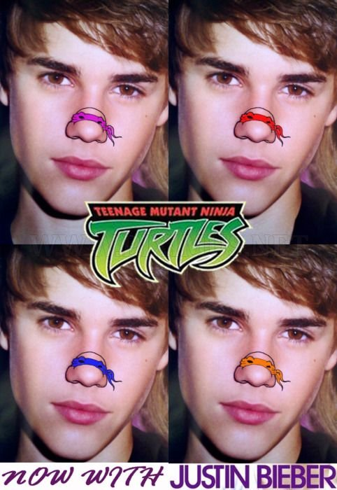 Teenage Mutant Ninja Noses