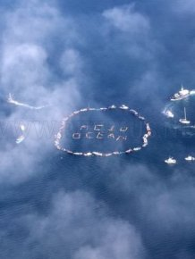Amazing Human Aerial Art