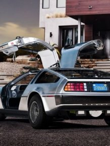 New Electric DeLorean