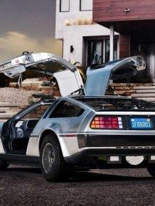 New Electric DeLorean
