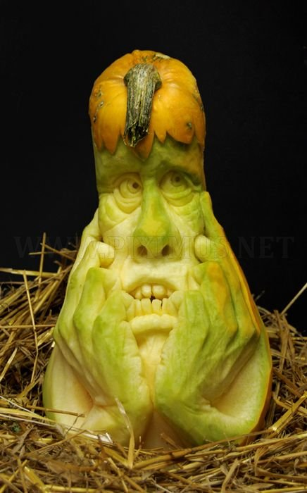 Awesome creative pumpkins art for Awesome pumpkin drawings