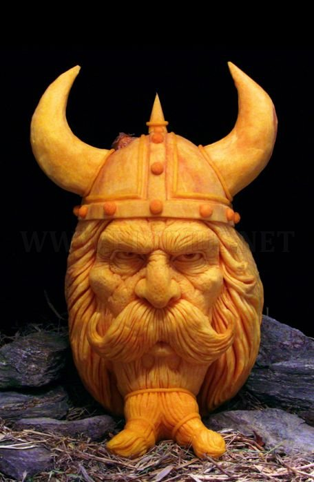 Awesome creative pumpkins art for Funny pumpkin drawings