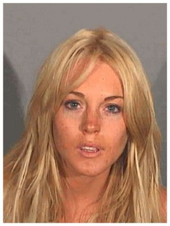 The Lindsay Lohan Mugshot Collection