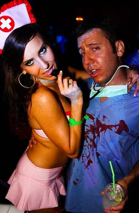 Playboy's Haunted Mansion Party