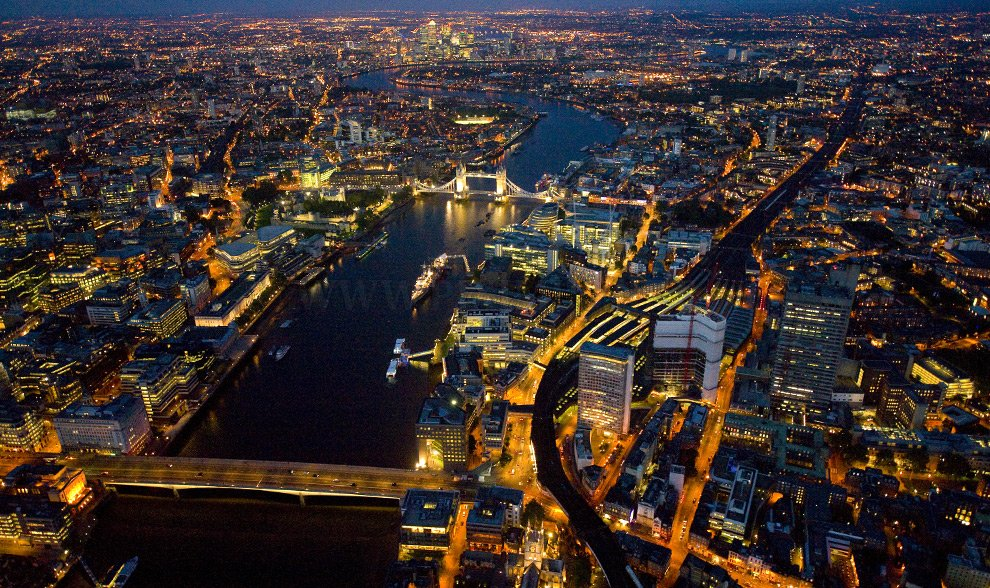 London from abouve