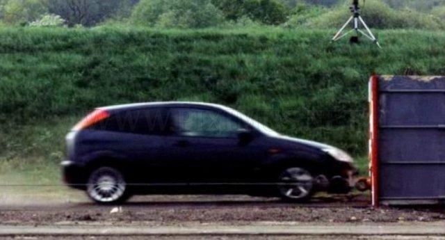 World's fastest crash test
