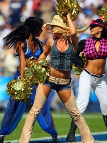 Hot NFL Cheerleader Costumes
