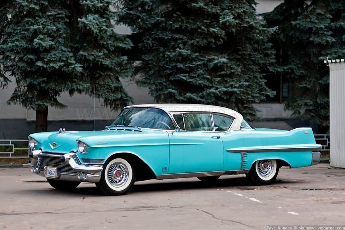 Cadillac Coupe Deville 1957, part 1957   Vehicles
