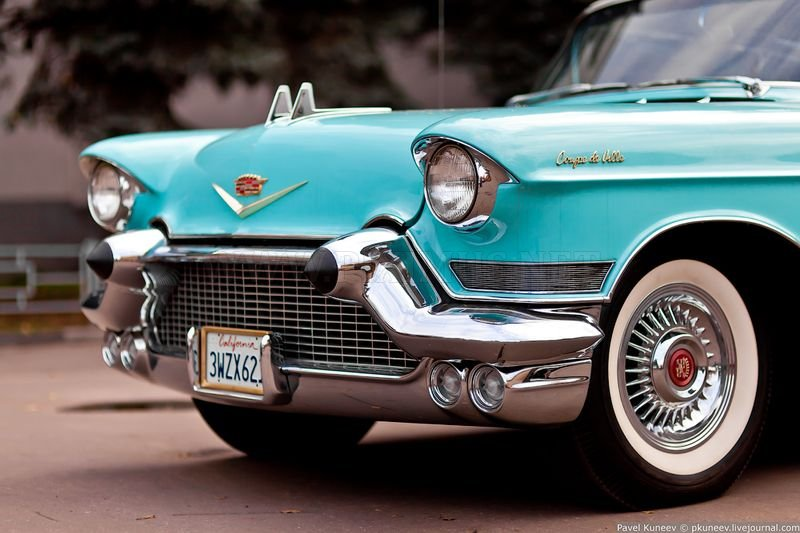 Cadillac Coupe Deville 1957, part 1957