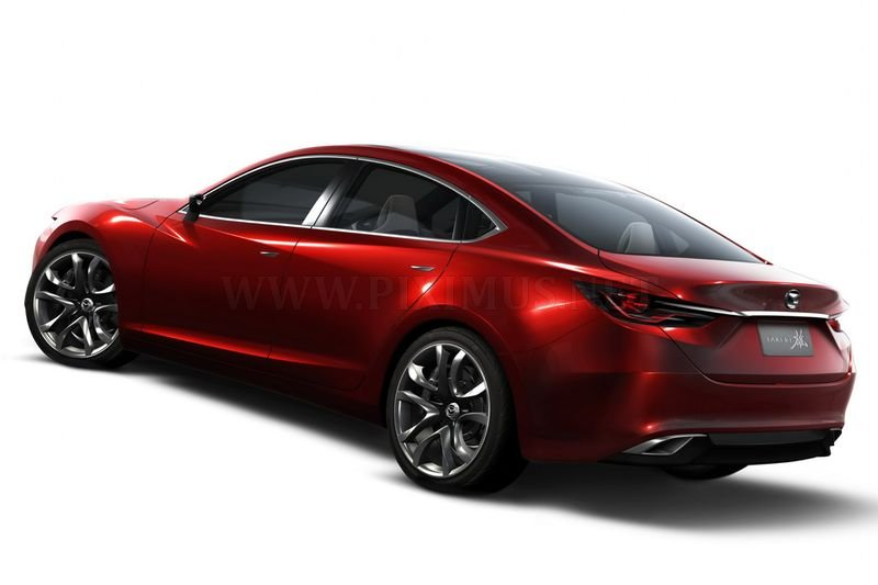 Concept Mazda Takeri Prototype Of The New Mazda 6 Part