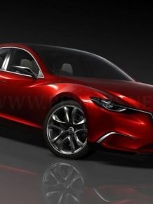 Concept Mazda Takeri - prototype of the new Mazda 6
