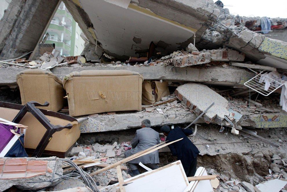 The earthquake in Turkey