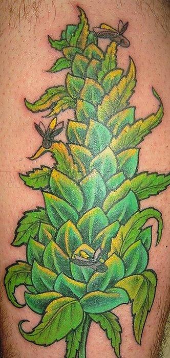 Marijuana Tattoos