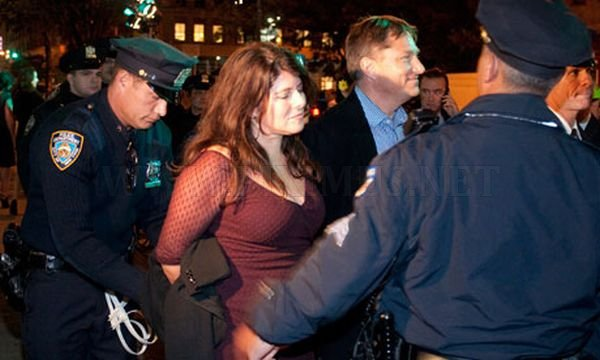 Celebrity Sightings At Occupy Protests