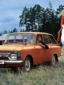 Advertise Soviet automobile industry