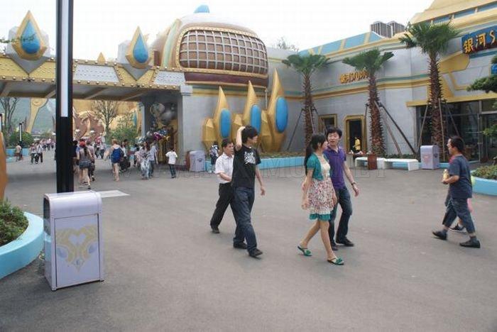 Joyland, Unlicensed Warcraft/Starcraft Theme Park in China