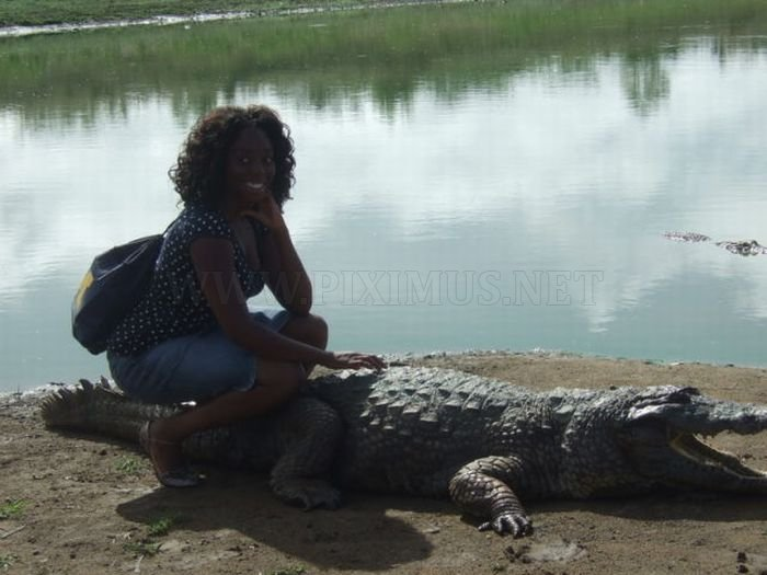 Paga Crocodile Pond In Ghana For Brave Tourists Only