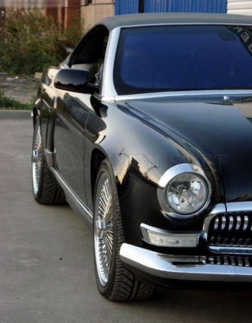 BMW M6 to Volga