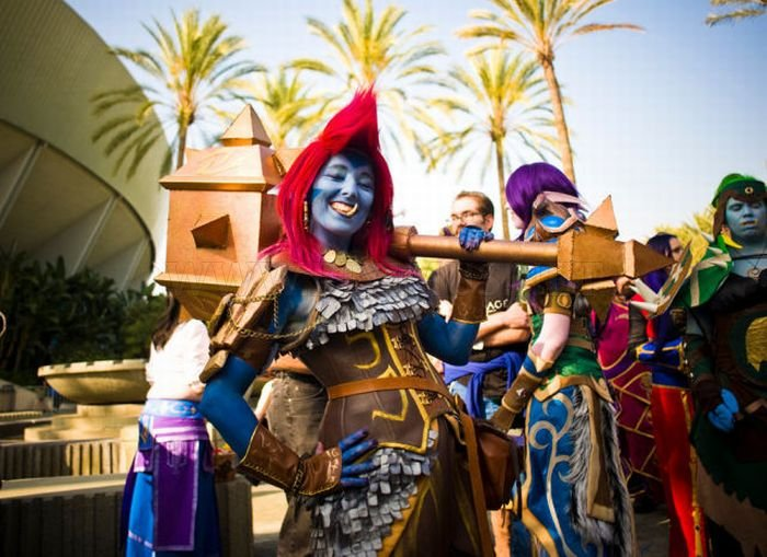 2011 Blizzcon Attendees Costumes