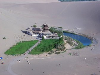 The Amazing Oasis of Crescent Lake