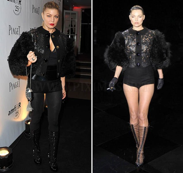 Celebrities Wearing the Same Outfits