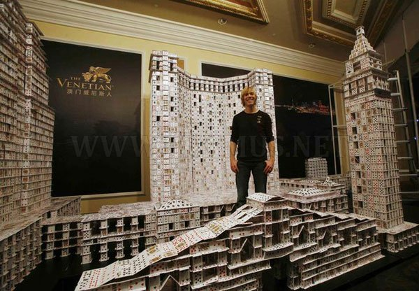 The World Largest House of Cards
