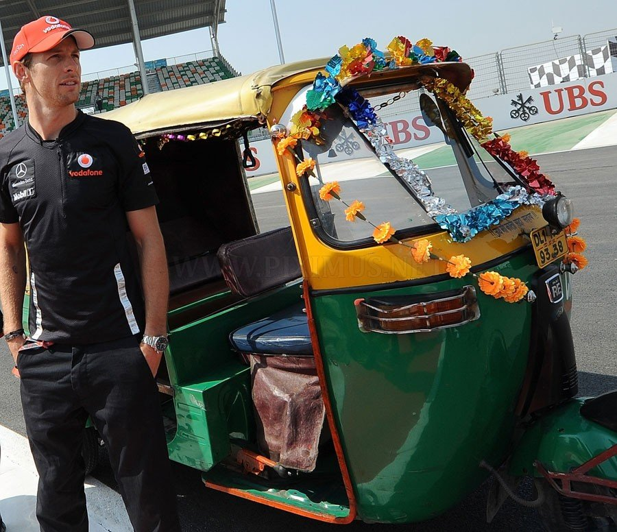 Behind the scenes at the Grand Prix of India 2011, part 2011