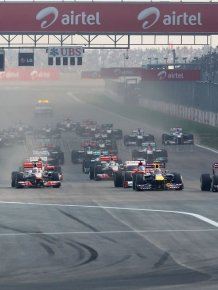 Behind the scenes at the Grand Prix of India 2011