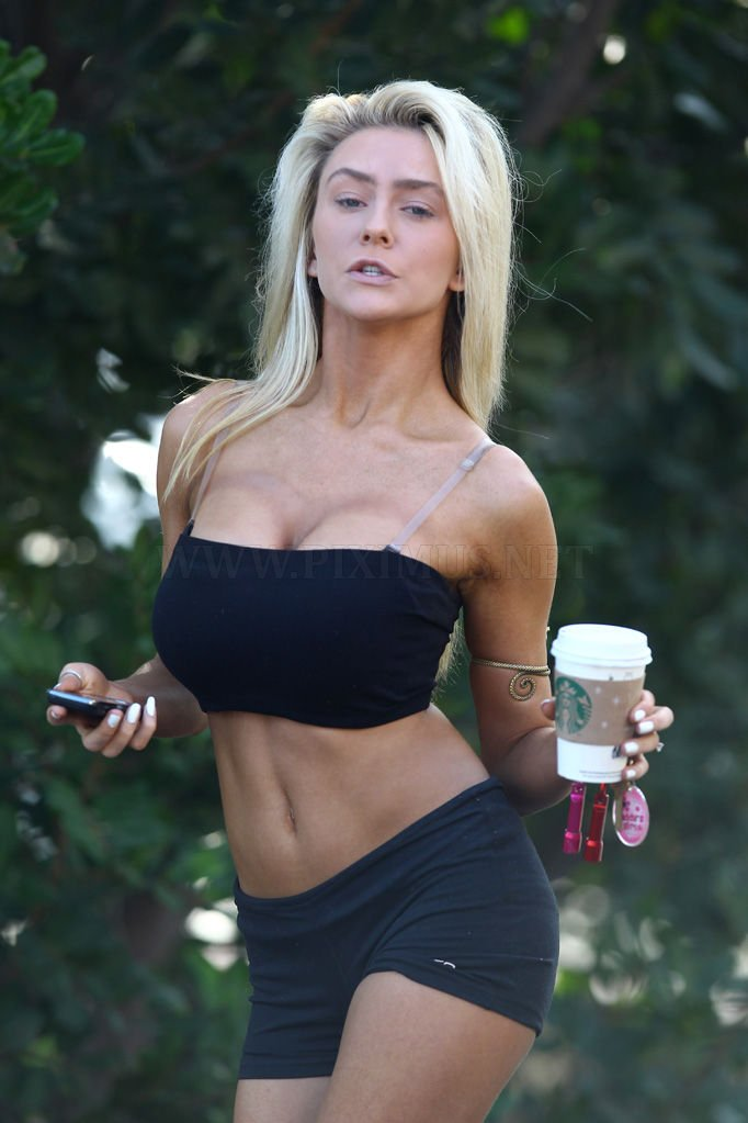 Courtney Stodden without makeup