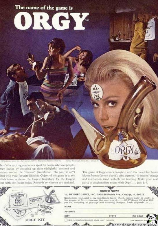 Crazy and shocking retro ads