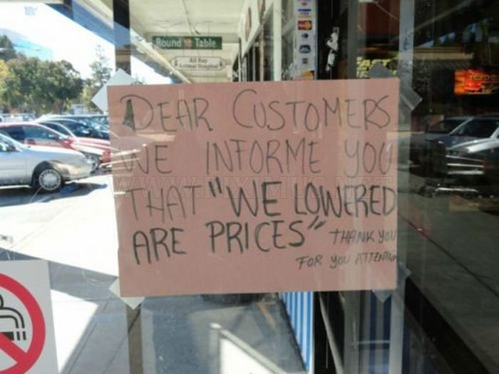 Bizarre And Hilarious Public Signs