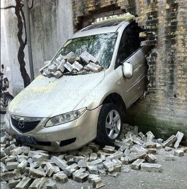 Car vs Wall