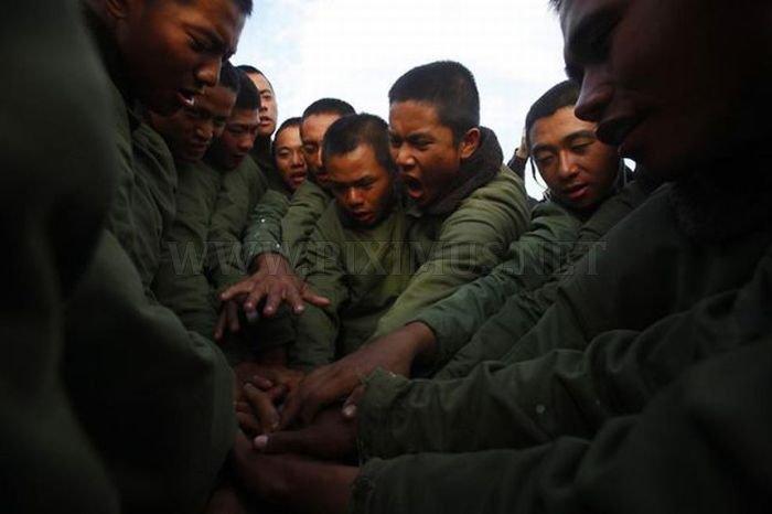 Taiwan Soldiers Training