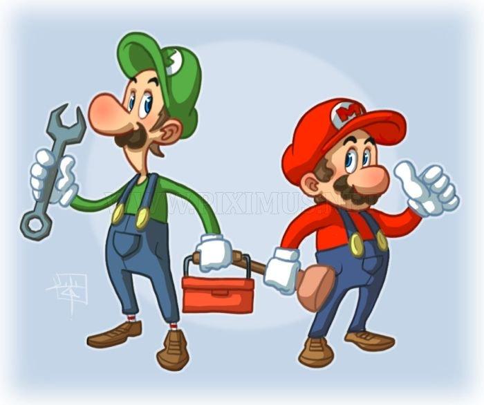 Super Mario Brothers Artworks