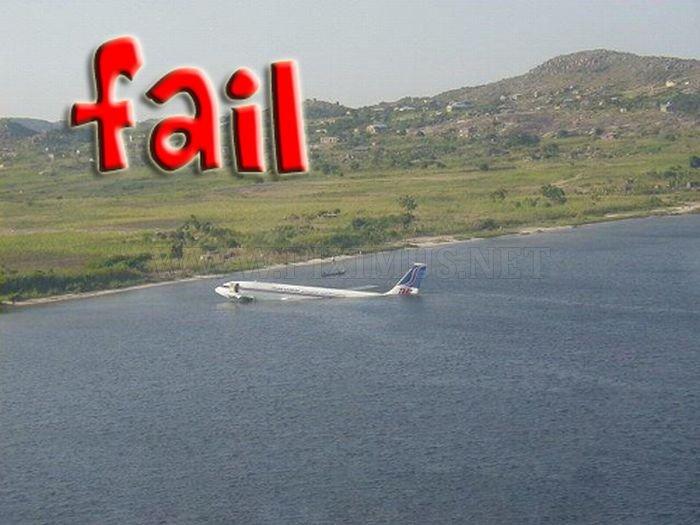 Landing Fails