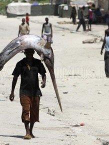 Fishers in Somalia