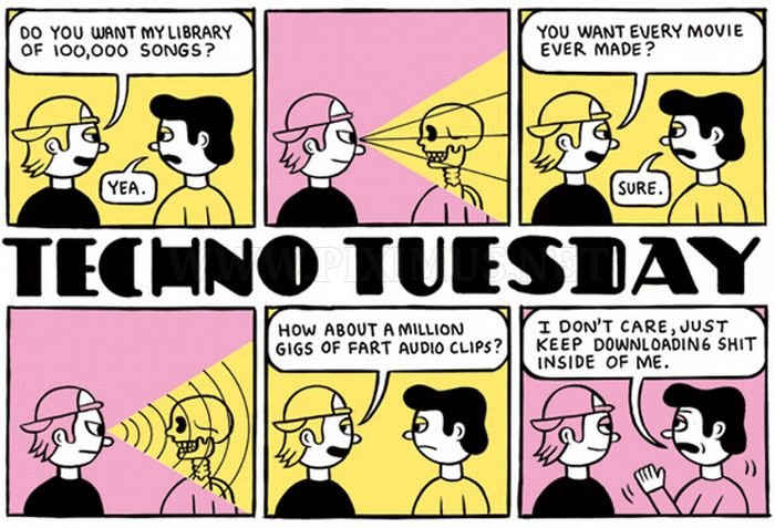 Techno Tuesday Comics