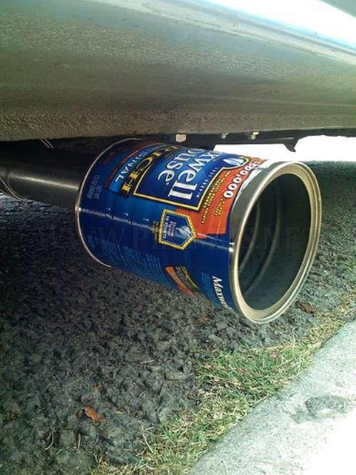 Unique exhaust