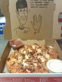 Pizza Box Drawings