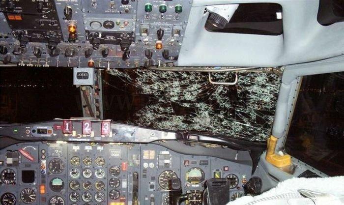 Plane vs Hailstorm