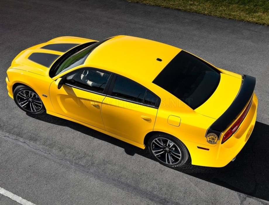 Dodge in Yellow