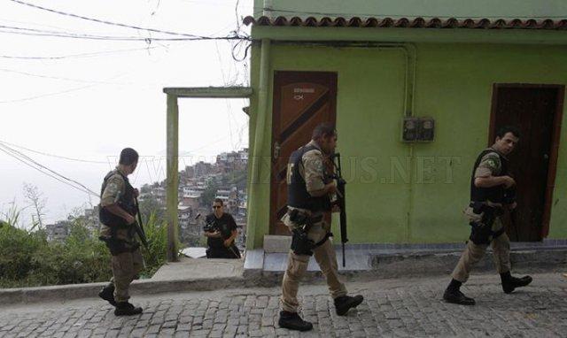 Brazilian Police vs Drug Traffickers