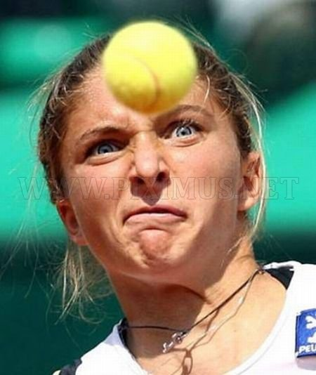 Funny Tennis Faces