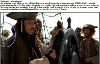 Worst Movie Mistakes in History