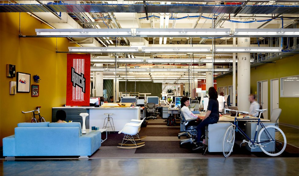 The head office of Facebook