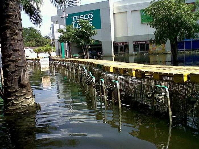 Thai Flood Hacks