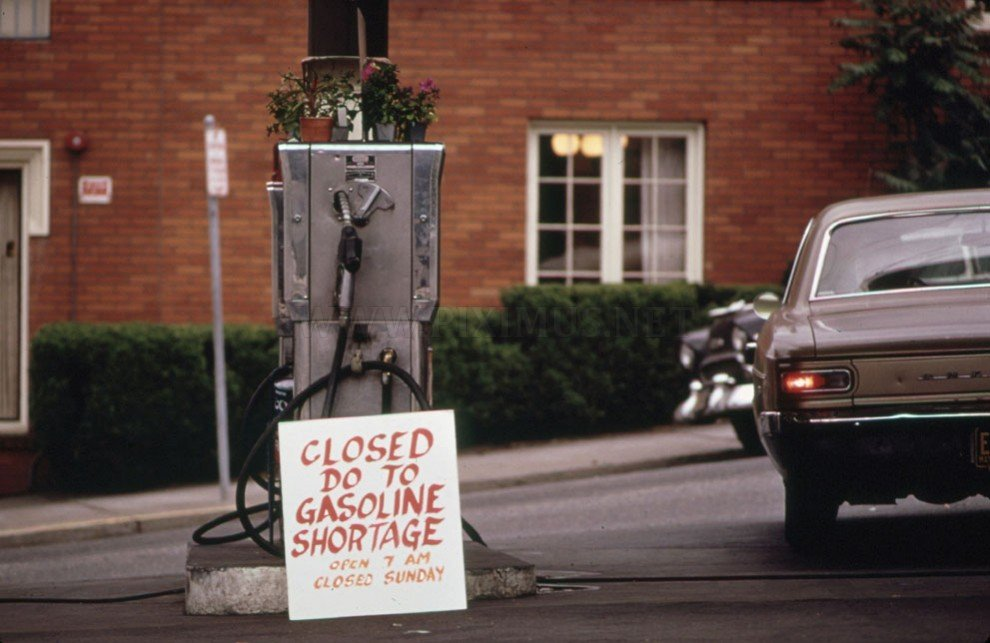 Eco crisis in America in the '70s